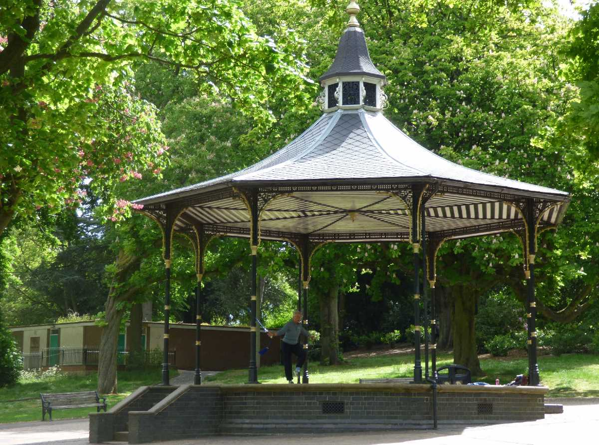 Bandstand Cannon Hill Park