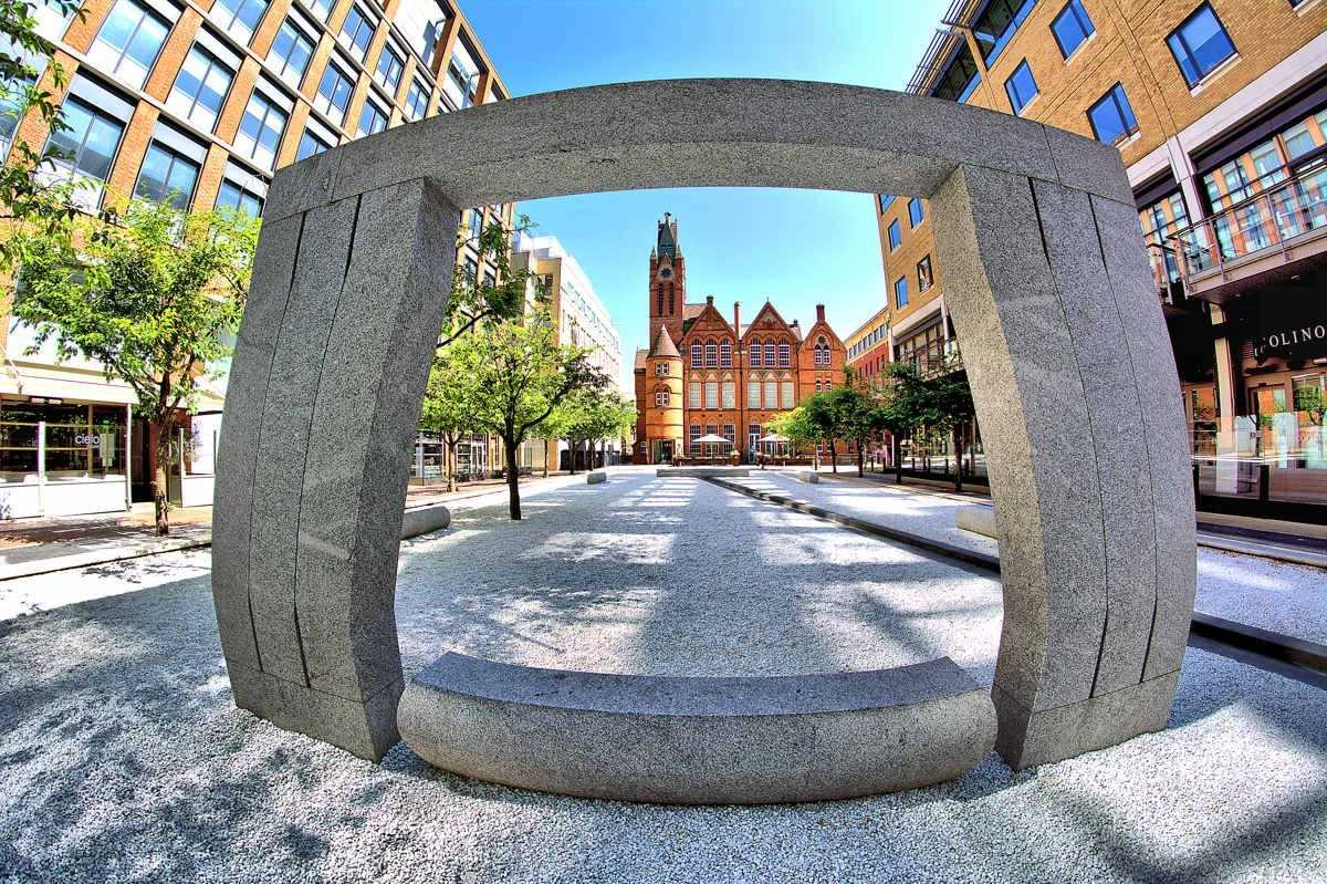 Birmingham (City centre) trail - Public squares